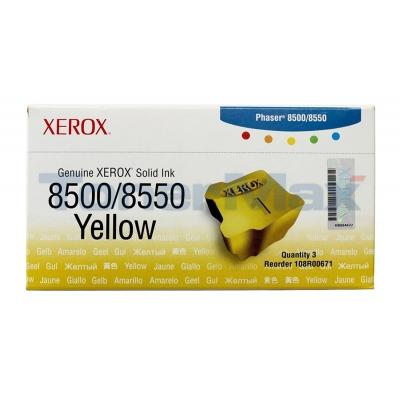 XEROX PHASER 8500 8550 SOLID INK YELLOW
